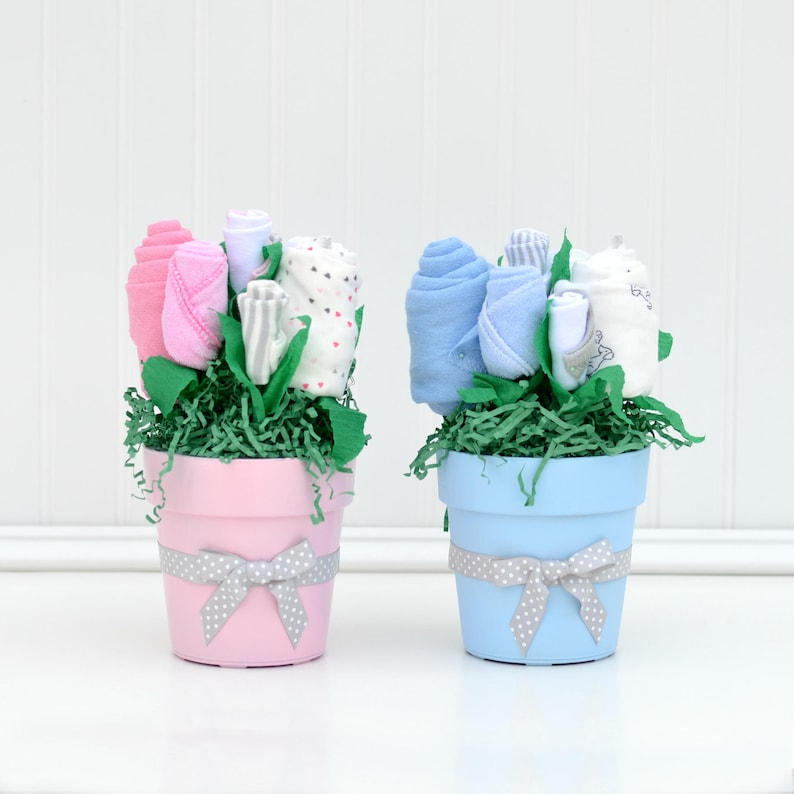 Twin Baby Shower Centerpieces Boy Girl Twin Shower Etsy