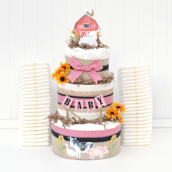 Animal Themed Baby Shower Decorations  from i.etsystatic.com
