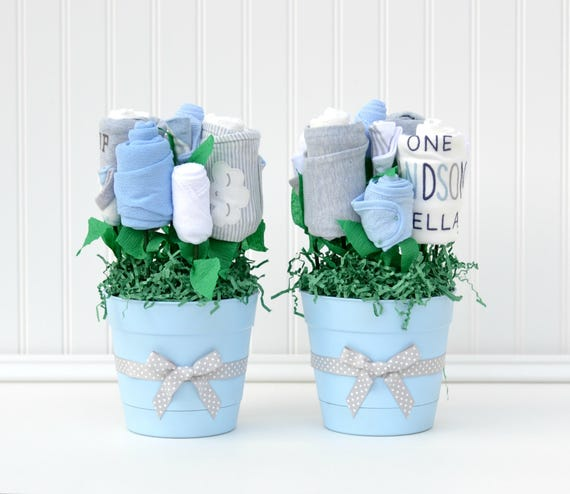 Baby Shower Decor Baby Shower Table Centerpieces Unique Boy Etsy