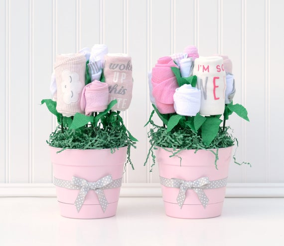 Baby Shower Ideas For Girl Baby Shower Table Centerpieces Etsy
