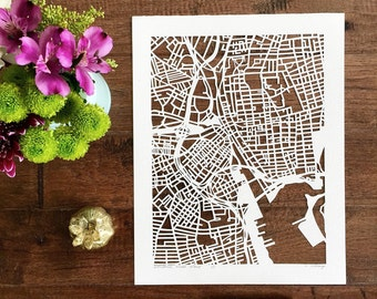 "custom hand cut map, 11""x14"", 16""x20"" or 22""x30"" FEBRUARY completion"