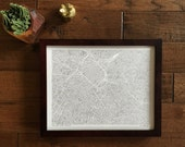 frame for 11x14 city prints
