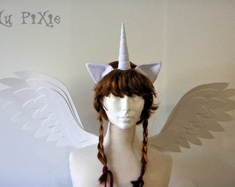 Kids and Adult My Little Pony Halloween Costume Animal Ears Cat Pony Fox Ears Cons Cosplay Accessories