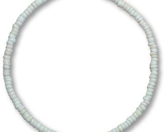 d4e2b003c519c4 Native Treasure - Real Puka Shell Necklace or Bracelet- 7mm (1/4+