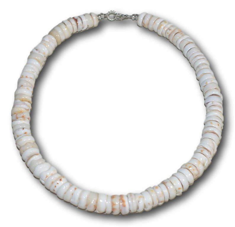 Genuine Raw Puka Shell Necklace Surfer Choker  Up to image 0