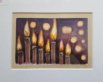 Candles - ORIGINAL PAINTING