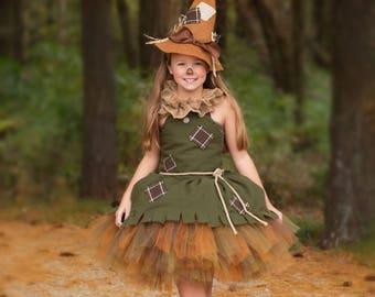 Wizard of Oz Scarecrow Dress