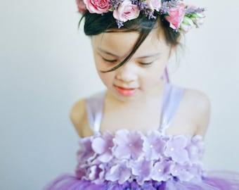 eaa44ac25d1 Wisteria   Lavender Tutu Dress- Purple Dress- Lavender Flower Girl Dress
