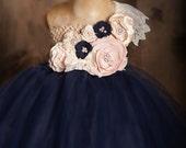 Winter Blush Tutu Dress