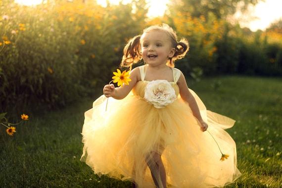 c0e3447f59 Sweet Buttercup Tutu Dress | Etsy