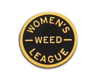 Women's Weed League - Enamel Lapel Pin