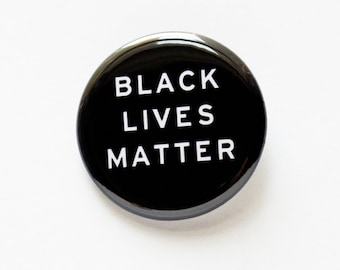 Black Lives Matter - pinback button
