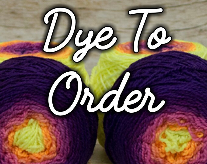 """DYE TO ORDER """" If I Want Exposure I'll Get My Tits Out (Llady Llama Style) """" -Lleap Handpainted Gradient Sock Yarn"""