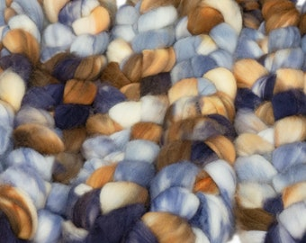 Elli AU #32 /OOAK Llegacy Kettle Dyed SW Merino Combed Top/ 4 oz.