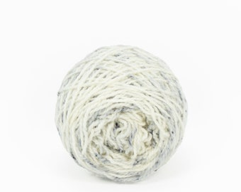 "Wee "" Crone "" Llark Handpainted Speckle Dyed Fingering Weight Yarn Mini Skein"