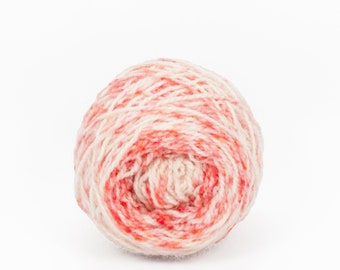 "Wee "" Deadly Poppy Field "" Llark Handpainted Speckle Dyed Fingering Weight Yarn Mini Skein"