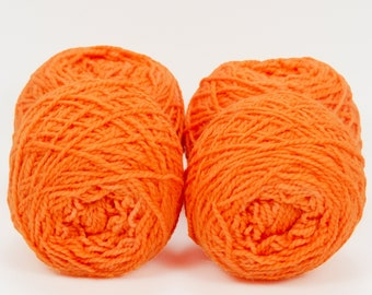"Wee "" Phoenix Fire "" -Lleap Handpainted Semisolid Fingering Weight Yarn Mini Skein"