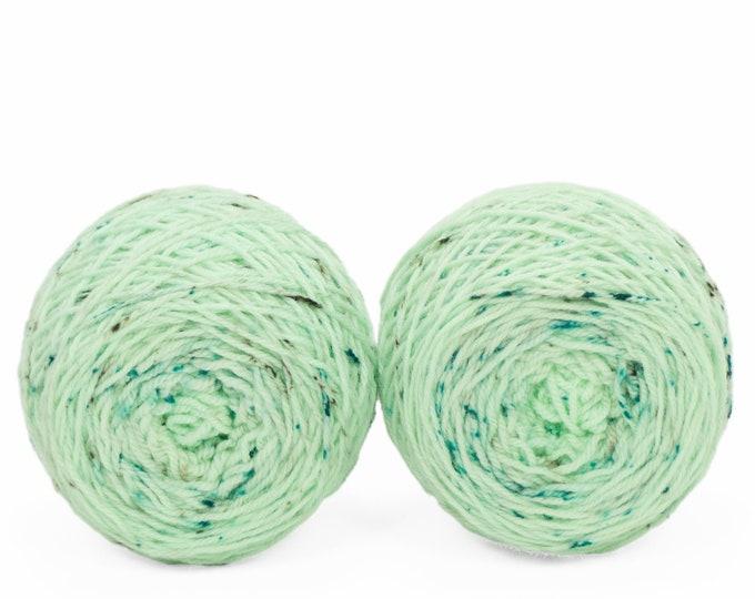 """Sock Twins """" Minthe """" - Llively SW Targhee Handpainted Gradient Sock Yarn Set"""