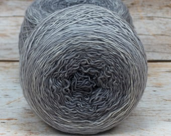 "Full "" Crone "" - Llift Handpainted Gradient Single Ply Fingering Weight Yarn"