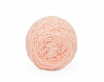 "Wee "" Rose Quartz "" - 20g Lleap SW Merino/Nylon Hand Dyed Semisolid Fingering Weight Yarn Mini Skein"