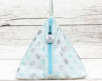 Notion - Snowflake Diamonds - Llexical Notions Pouch - Knitting, Crochet, Spinning Accessory Bag