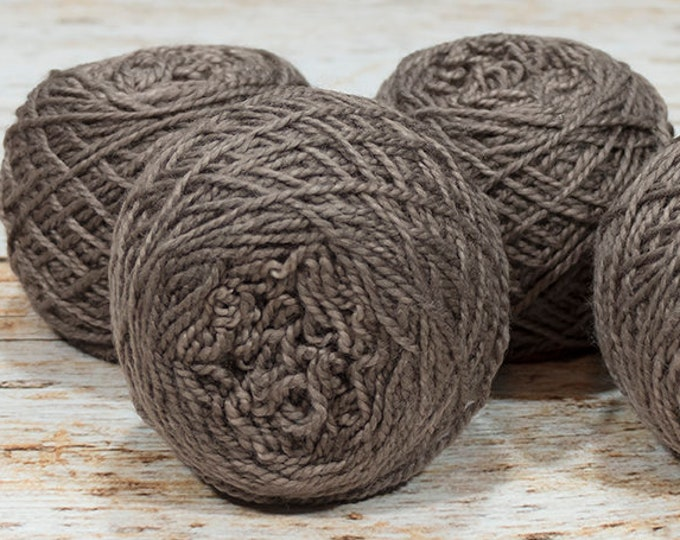 "Wee "" Chocolate Mousse "" -Lleap Handpainted Semisolid Fingering Weight Yarn Mini Skein"