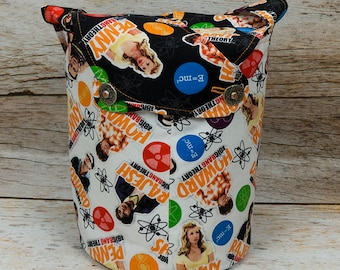 Big Bang! -Small Llayover Knitting Tote/ Knitting, Spinning, Crochet Bag