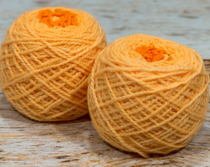 """Wee """" More Than A Man """" -Lleap Handpainted Gradient Fingering Weight Yarn Mini Skein"""