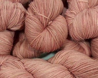 "Llineage Worsted "" Mom's Applesauce "" Semisolid Hand Dyed Yarn 160g / 400 yd"