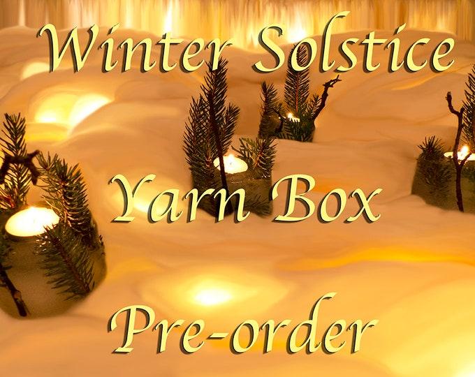 PRE-ORDER Winter Solstice Mystery Yarn Box