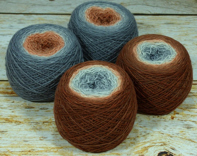 "Full "" Trailblazer "" - Llift Handpainted Gradient Single Ply Fingering Weight Yarn"