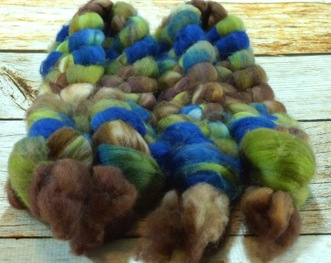 Righteous Man/ Handpainted SW Merino Combed Top/ 4 oz.
