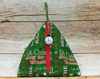 Holiday Cheer - Llexical Notions Pouch - Knitting, Crochet, Spinning Accessory Bag