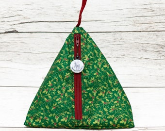 Notion - Holly - Llexical Notions Pouch - Knitting, Crochet, Spinning Accessory Bag