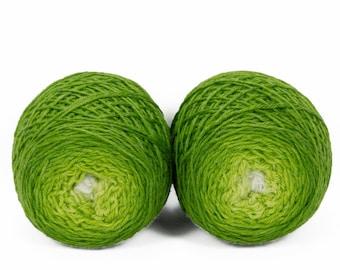 "Sock Twins "" Sprout "" - Lleaf SW Merino/Bamboo Handpainted Gradient Sock Yarn Set"