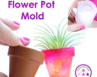 Flower Pot Mold Small Pot Silicone Rubber