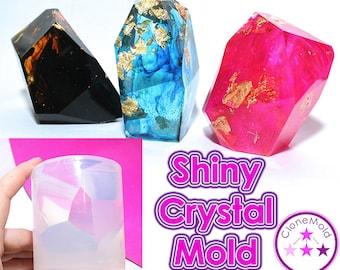 Large Crystal Stone Mold Stone Rock Silicone Mold