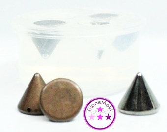 Small Stud Mold; Silicone Rubber