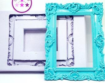 Frame Mold 5x7 Rectangle Frame; Silicone Rubber