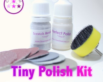 Rotary Tool Attachment and Sanding and Polishing Kit with MICRO ABRASION, sand paper 80 -  7000 Grit
