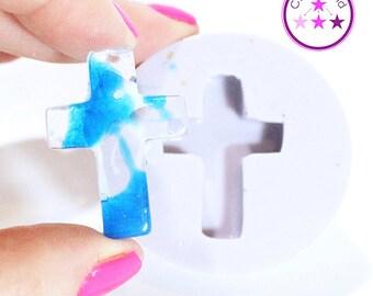 Cross Pendant Mold Silicone Rubber