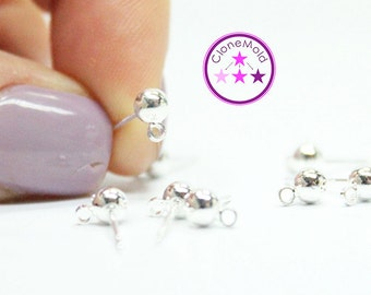 925 Sterling Silver Earring Stud Drop Blanks
