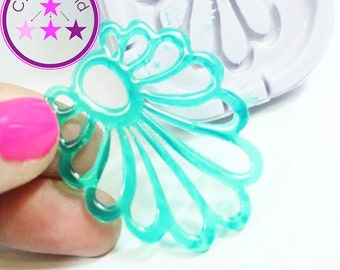 Leaf Earring/Pendant Mold Silicone Rubber