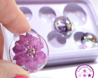 Thick Circle Pendant/Cabochon/Earring  Mold; 17.5 mm, 21.5 mm, 29.5 mm