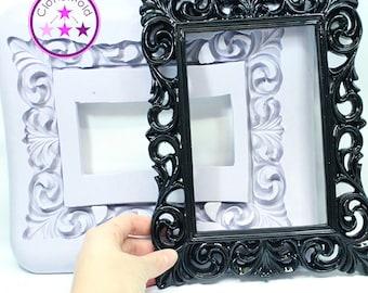 Frame Mold 5 x 7 Rectangle Frame Mold; Silicone Rubber