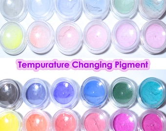 Temperature Changing Colour Powder Resin Pigment, Mood Ring, Thermochromic