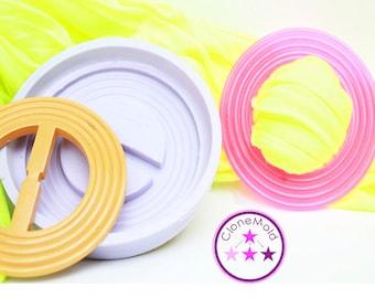 Scarf or Belt Buckle Mold