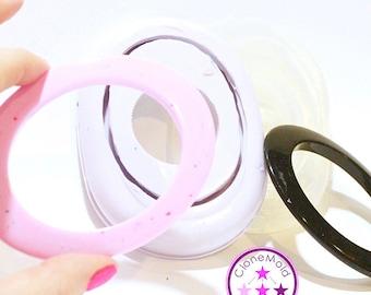 Bangle Mold Oval Oblong Bracelet Mold