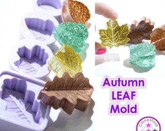 Leaf Pendant Mold Silicone Rubber