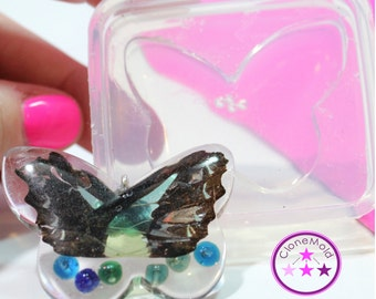 Butterfly Mold Pendant Silicone Rubber Mold